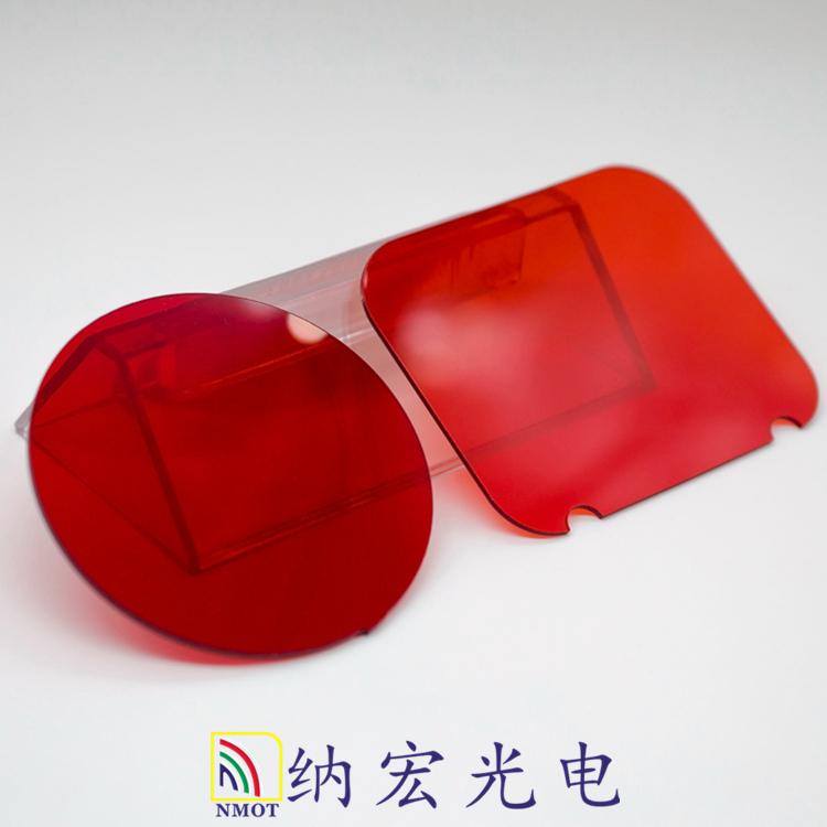 透红外红色PC板