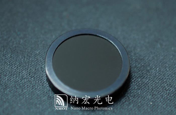 黑玻璃材质镀膜的带通滤光片