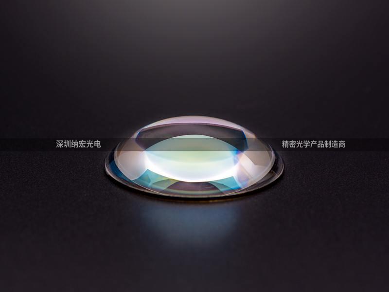 光学透镜的双凹透镜